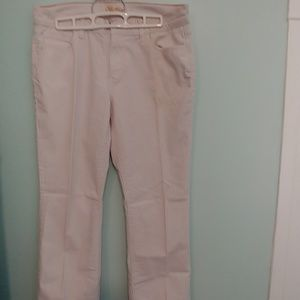 Old Navy pants corduroy cream colored 8